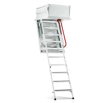 Výlezové schody Wippro AZR pro výtahy