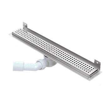 Nástěnný sprchový žlab, KWFp 500-1200mm