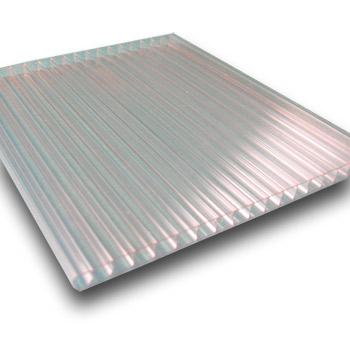 Komůrkový polykarbonát Makrolon 4 mm čirý 2,1x4m