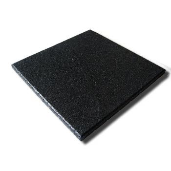 Protipádová pryžová dlažba MFL typ A, SBR, černá