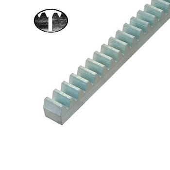 Hřeben kovový Crem-30, 30x30mm, 1m