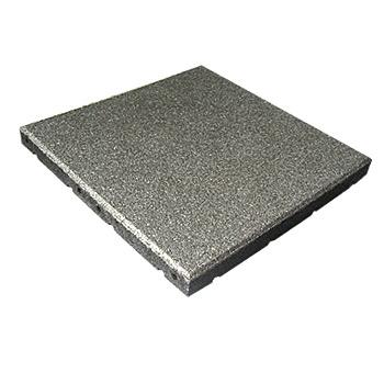 Protipádová pryžová dlažba MFL typ A, SBR, šedá