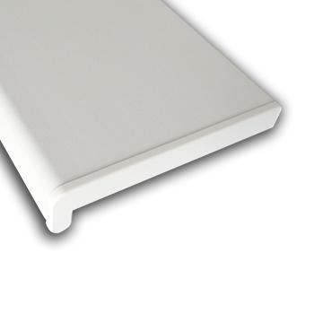 Plastový parapet RS, PVC folie - Bílý