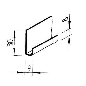 Zakládací profil Multipaneel, V2560