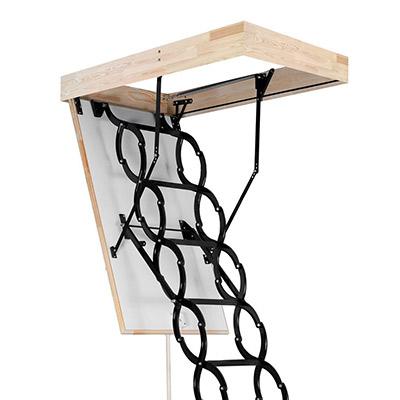 Prodloužené stahovací schody Long Flex Termo Rozměr: 600x1300mm