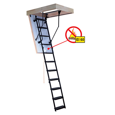 Protipožární schody Oman Solid EI60