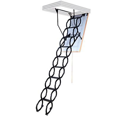 Stahovací schody Flex Termo - Metal Box