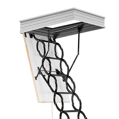 Půdní schody stahovací Flex Termo - Metal Box Rozměr: 500x700mm