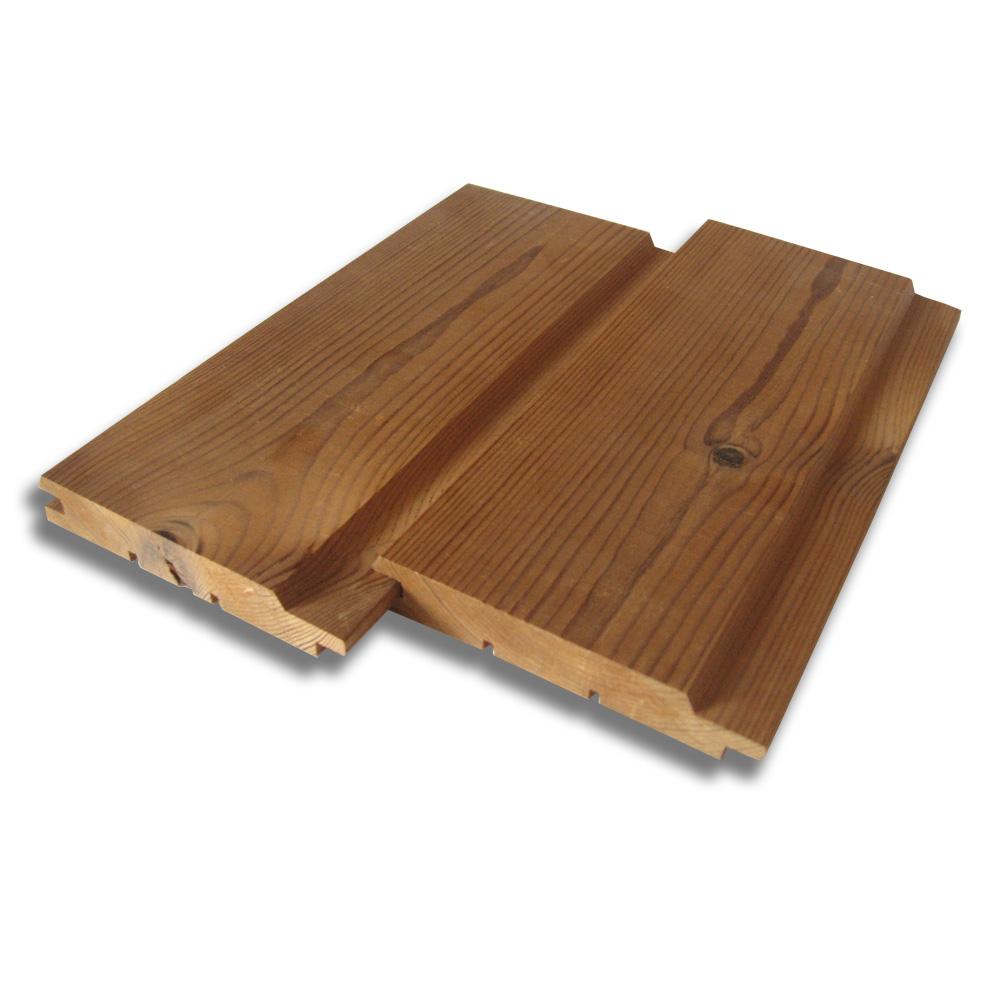 Dřevěná fasádní palubka Thermowood, UTV 19x117mm