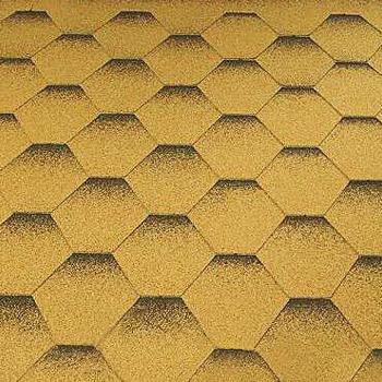Asfaltové šindele Katepal Katrilli, zlatý písek