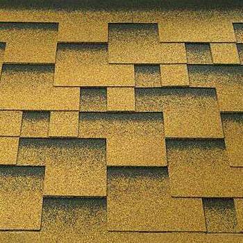 Bitumenový šindel Katepal Rocky, zlatý písek