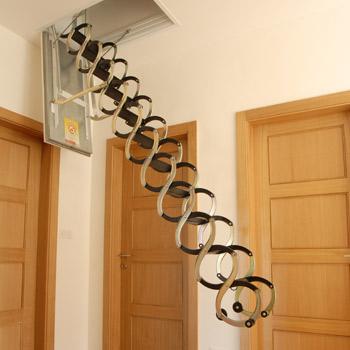 Protipožární půdní schody JAP Lusso PP Rozměr schodů: 500x700mm