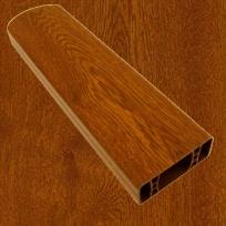 PVC foliovaná plotovka, 8001, zlatý dub