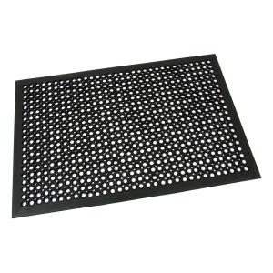 Gumová vstupní rohož s obvodovou hranou Dirt Catcher - 120 x 80 x 1,4 cm