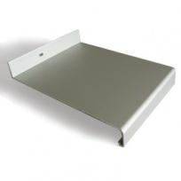 Venkovní parapet hliníkový Extrudovaný - stříbrný, tl. 1,5-2,8mm