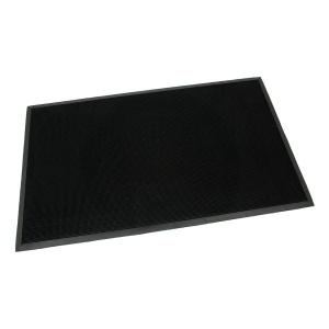 Gumová vstupní kartáčová rohož Rubber Brush - 150 x 90 x 1,2 cm