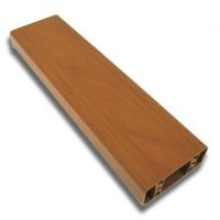 PVC plotový profil, 160, zlatý dub