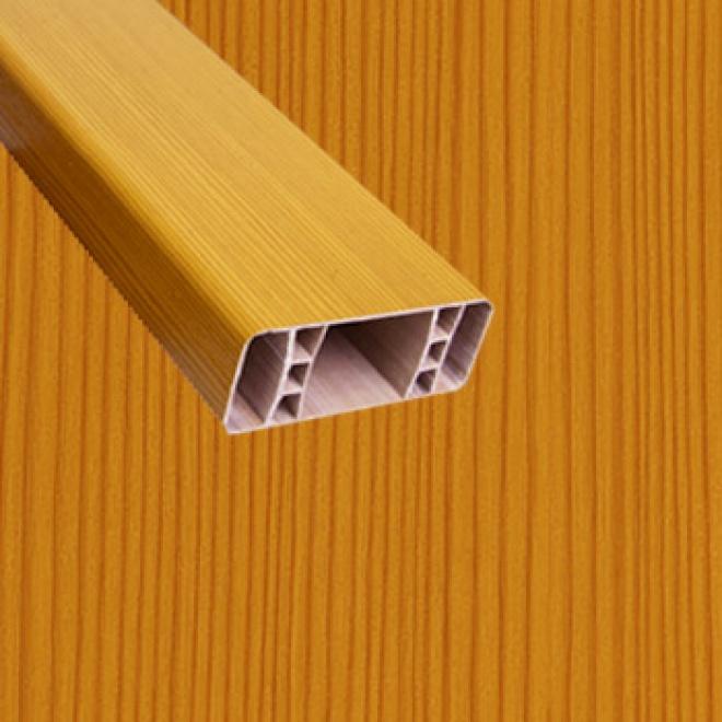 PVC foliovaná plotovka, 2091, oregon
