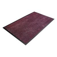 Fialová textilní čistící vnitřní vstupní rohož