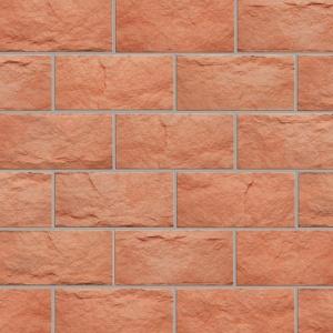 Pískovec Keraton® Rustika, světle červená