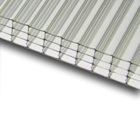 Komůrkový polykarbonát Exolon 4/10 mm 2,1x7m, čirý