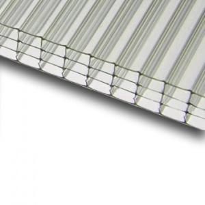 Komůrkový polykarbonát Makrolon 4/10 mm 2,1x7m, čirý