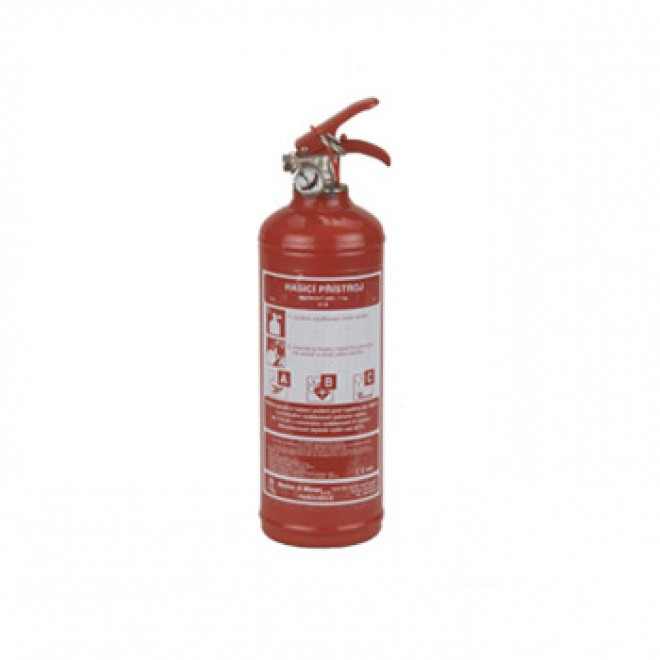 Práškový hasicí přístroj PR1e