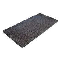 Černá bavlněná čistící vnitřní vstupní rohož