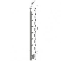 Podestový sloupek - boční kotvení, 6 prutů vnitřních, EB1-BHZ6-1