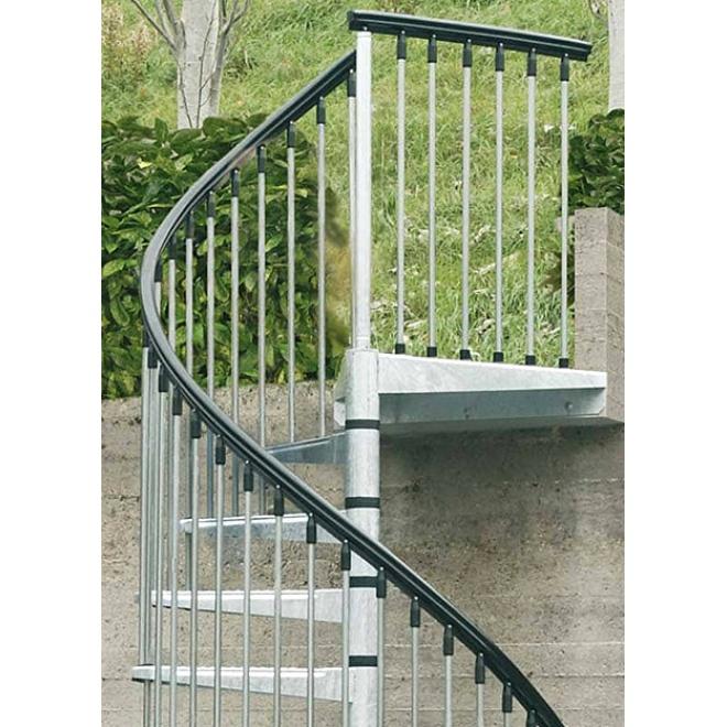 Exteriérové schodiště Arke Zink 1600mm