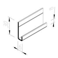 Zakládací profil Multipaneel, V5025