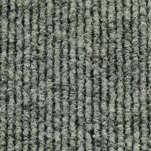 Textilní hliníková čistící vstupní vnitřní kartáčová rohož Alu Low Extra - 100 x 100 x 1 cm