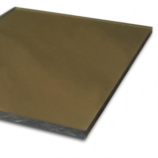 Plný polykarbonát Makrolon 2UV, 8 mm bronz 2,05x1,52m
