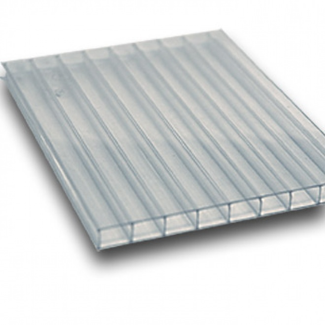 Polykarbonátová deska Exolon 6 mm čirá 1,05x1m