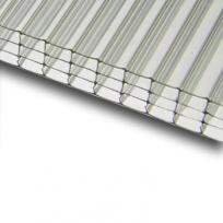Komůrkový polykarbonát Exolon 4/10 mm 2,1x2m, čirý