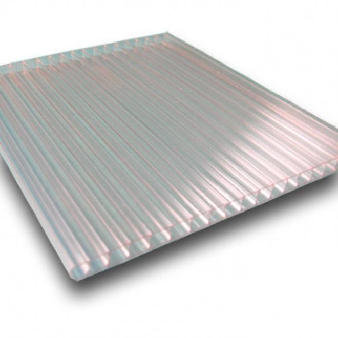 Komůrkový polykarbonát Exolon 4 mm čirý 1,05x2m