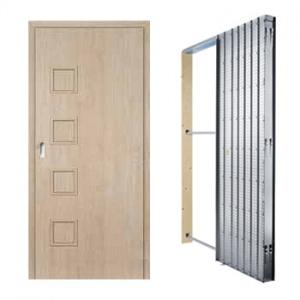 Posuvné dveře Masonite Giga plná, sada