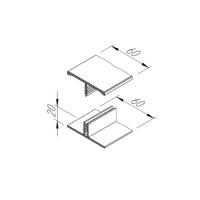 Spojovací dvoudílný H profil vinyPlus V2119