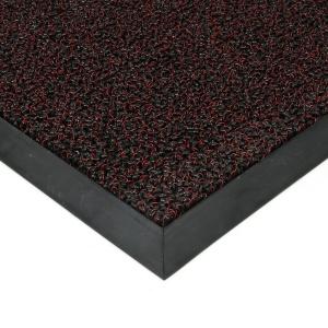Červená plastová zátěžová vstupní čistící rohož Rita