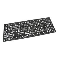 Gumová vstupní rohož Circles - Deco - 120 x 45 x 0,9 cm