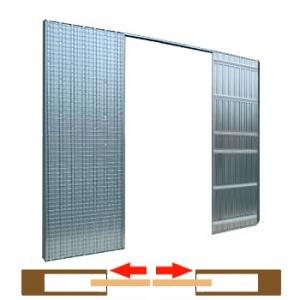 dvoukřídlé pouzdro Scrigno Stech 1235mm