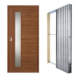 Posuvné dveře Masonite Vertika, sada