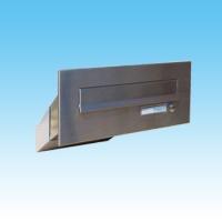 Nerezová poštovní schránka Dols, D-041 do sloupku