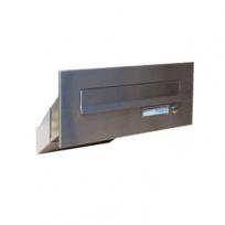 Nerezová poštovní schránka Dols, D-042, 33-50cm