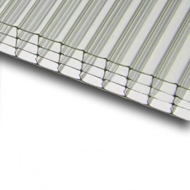 Komůrkový polykarbonát Exolon 4/10 mm 2,1x4m, čirý