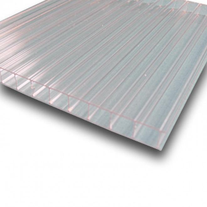 Dutinkový polykarbonát Exolon 10mm čirá 2,1x3m