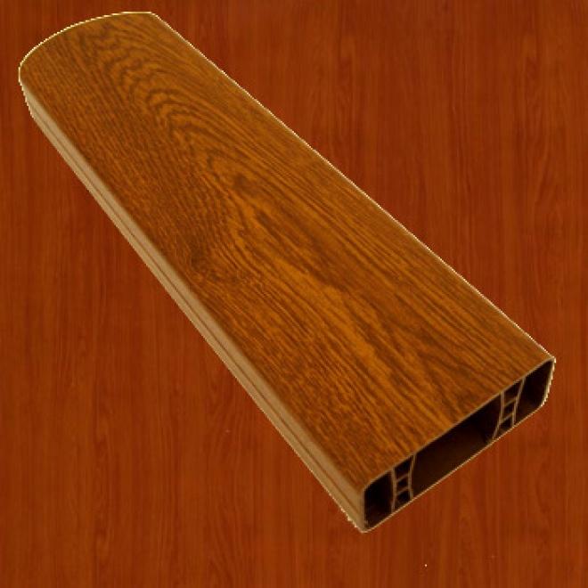 PVC foliovaná plotovka, 3043, třešeň amaretto