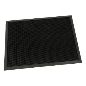 Gumová vstupní kartáčová rohož Rubber Brush - 80 x 60 x 1,2 cm