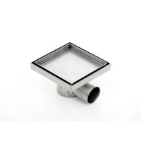 Podlahová vpusť Kesmet Standard, pro obklad, 200x200mm