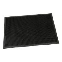 Gumová vstupní kartáčová rohož Rubber Brush - 90 x 60 x 1,2 cm